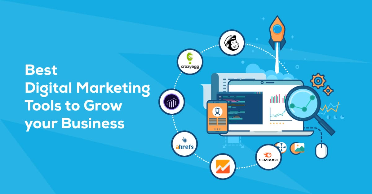 Best Digital Marketing Tools for Business Growth