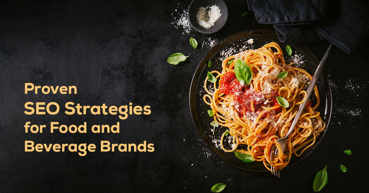 SEO  for Food and Beverage Industry